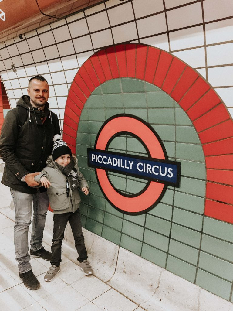 piccadilly circus weekend con bambini a Londra