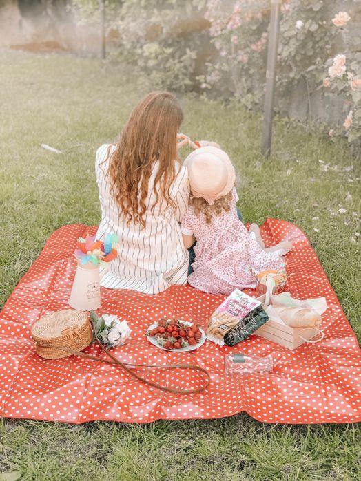 picnic in giardino con speedy pollo