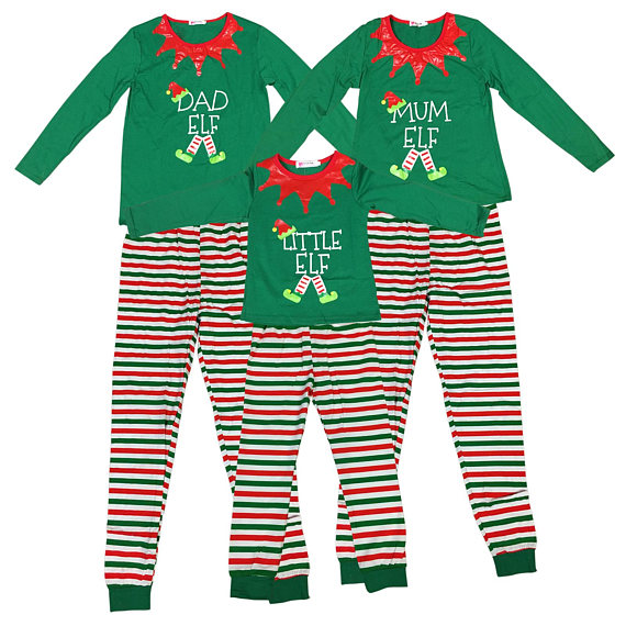 pigiami natalizi famiglia