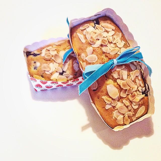 plumcake ai mirtilli e gocce di cioccolato