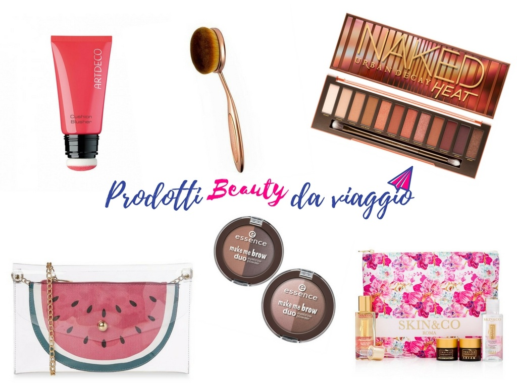 prodotti beauty da viaggio