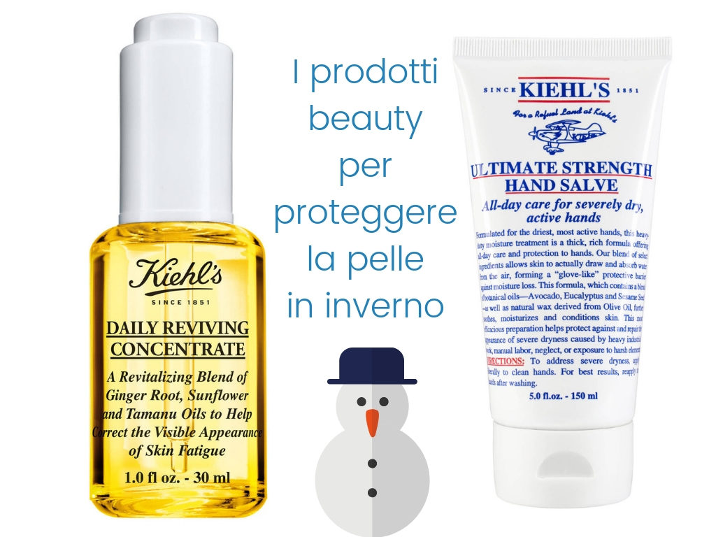 i prodotti beauty per proteggere la pelle in inverno