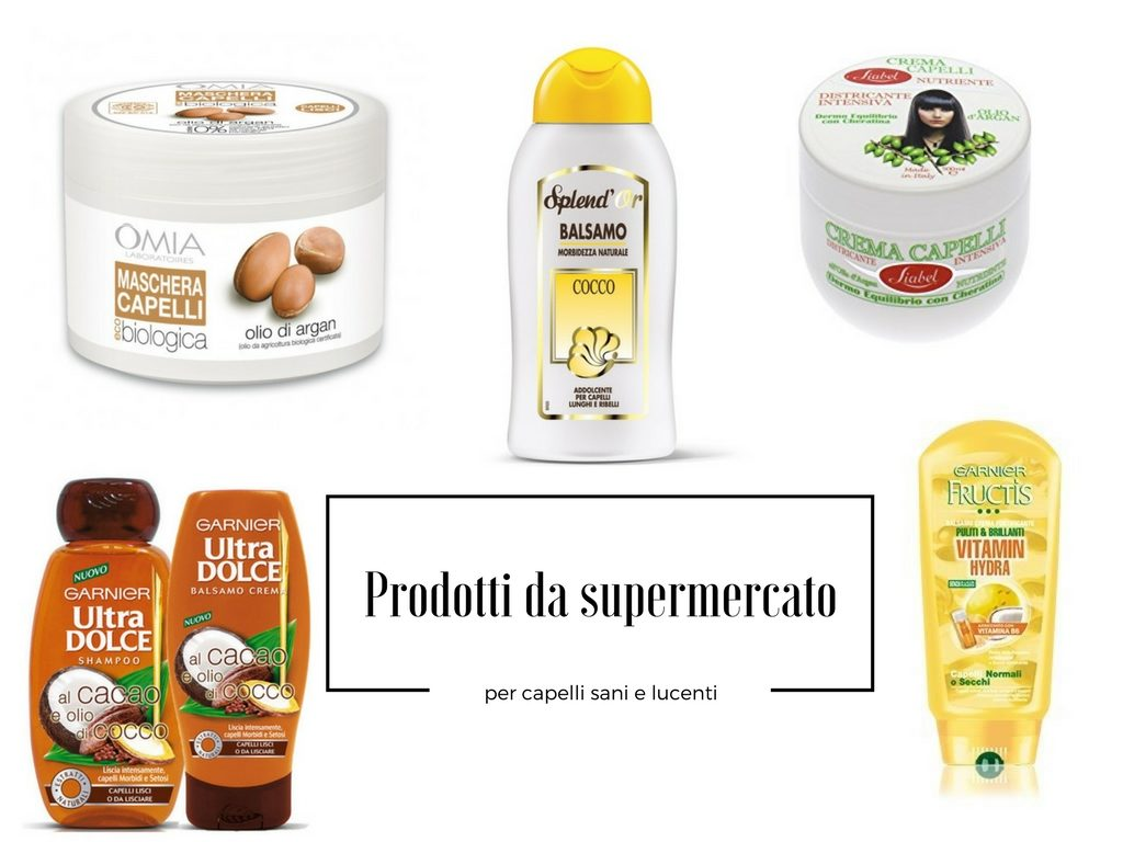 prodotti da supermercato per capelli