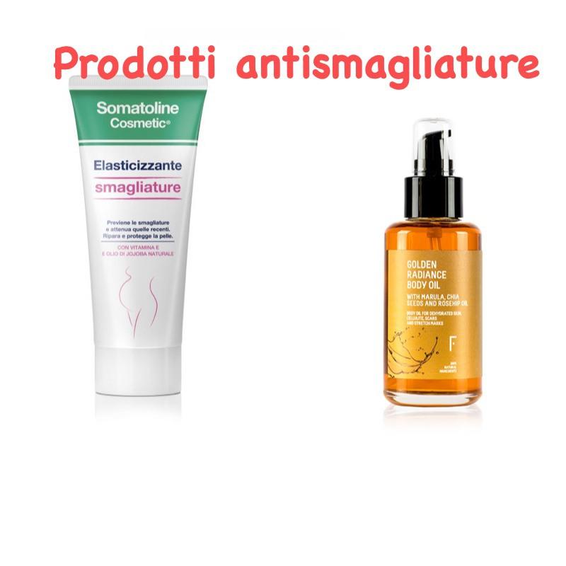 prodotti per il corpo antismagliature