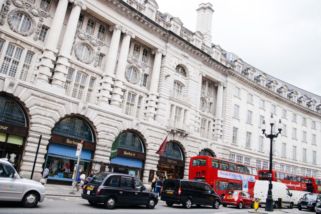 regent street dove fare shopping a londra