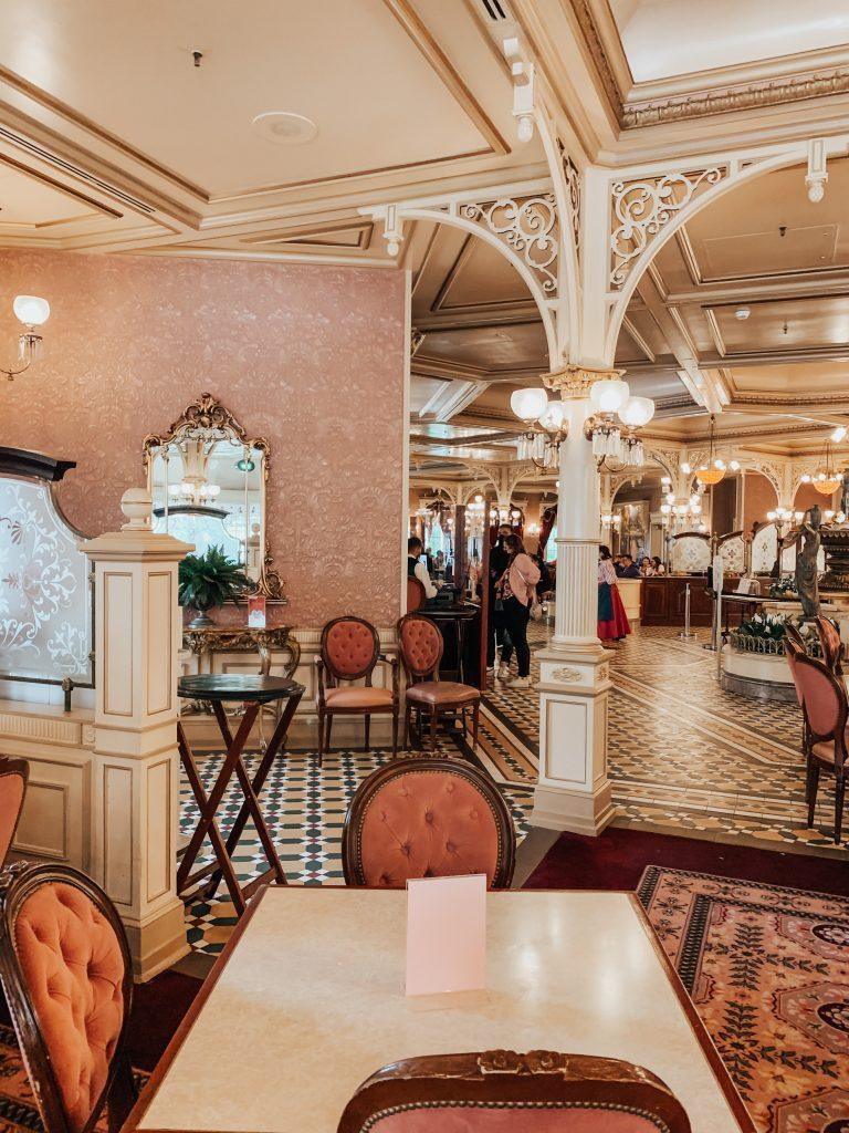 ristorante plaza garden Disneyland Paris