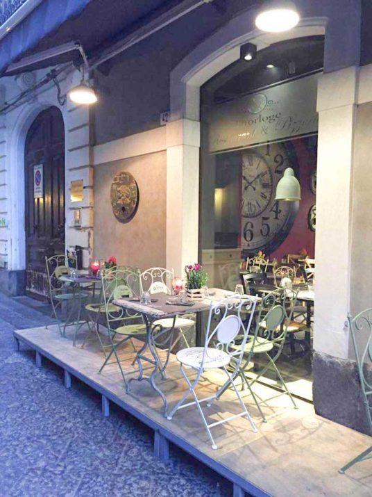 san valentino a Catania al ristorante horloge