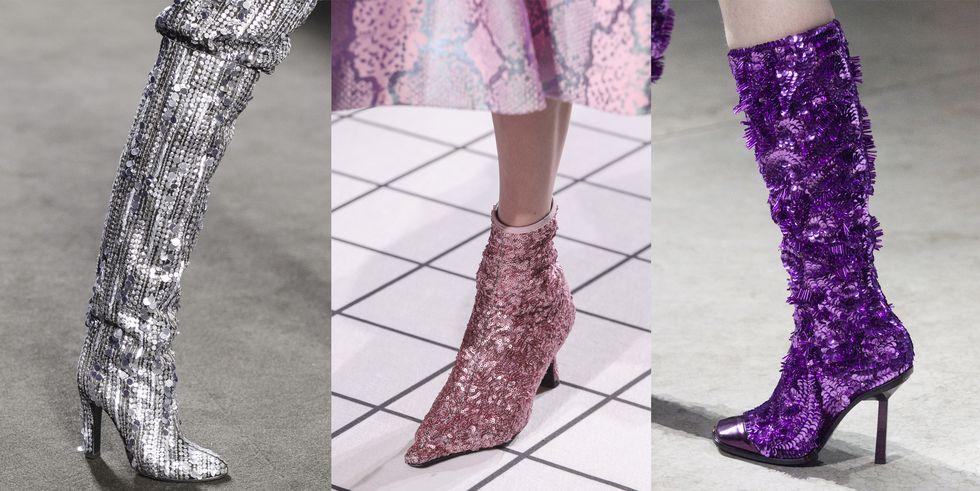 scarpe cult di stagione stivali glitterati