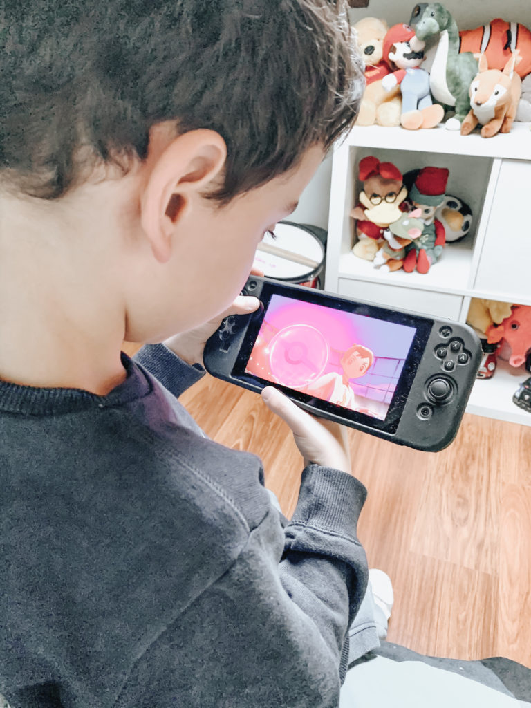 Scena Videogioco Pokémon Scudo