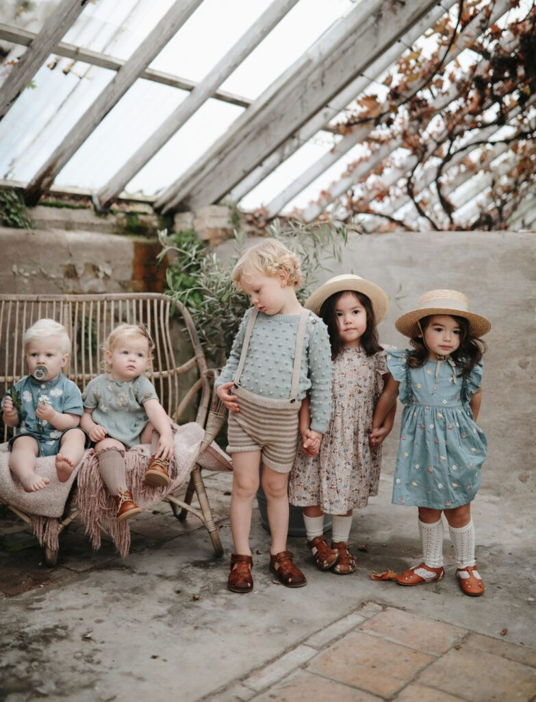 Stile Nordic moda bimbi