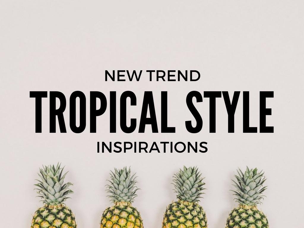 il trend delle stampe tropicali