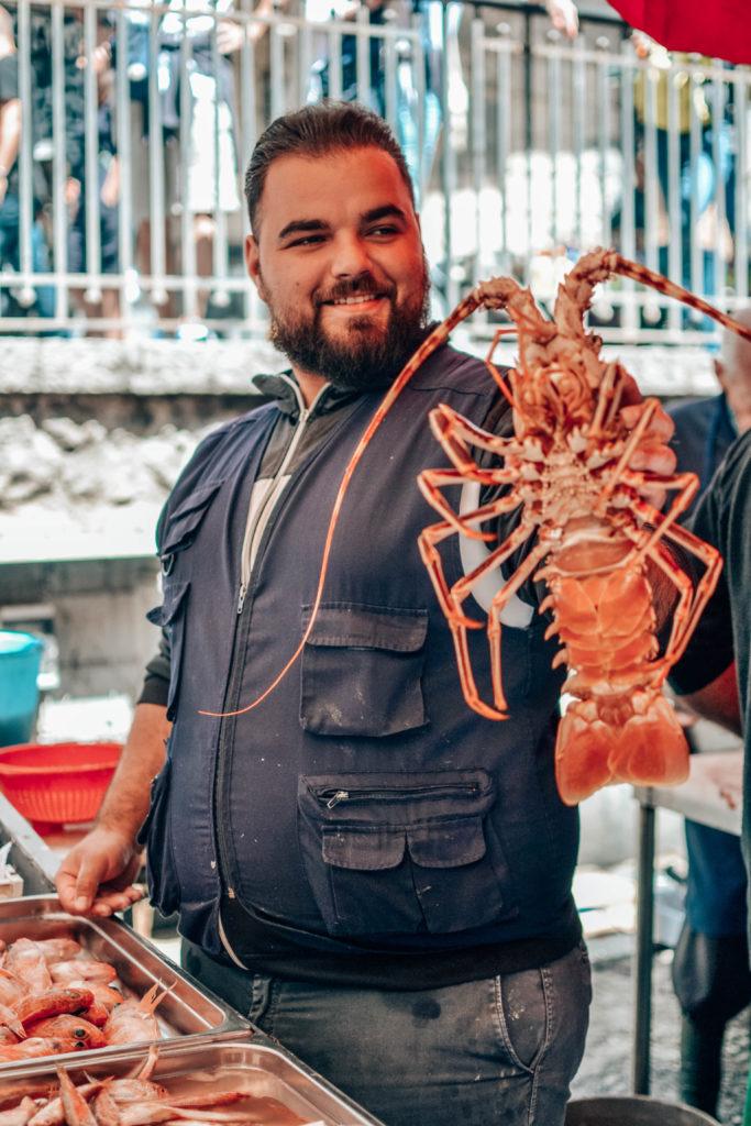 street food tour pescheria catania