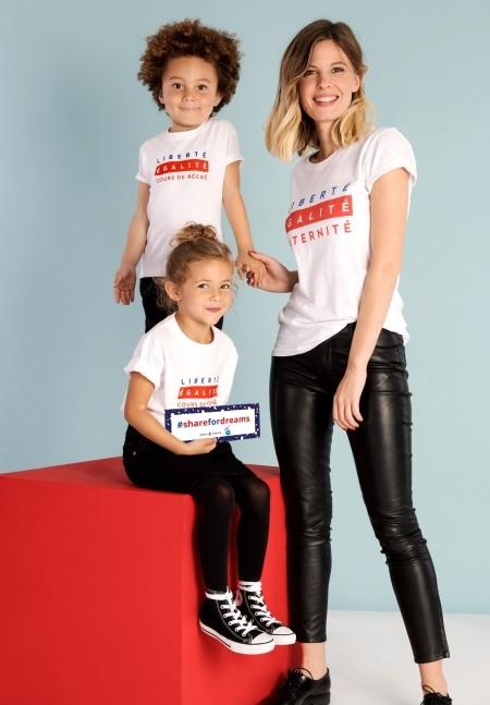 t-shirt uguali per tutta la famiglia