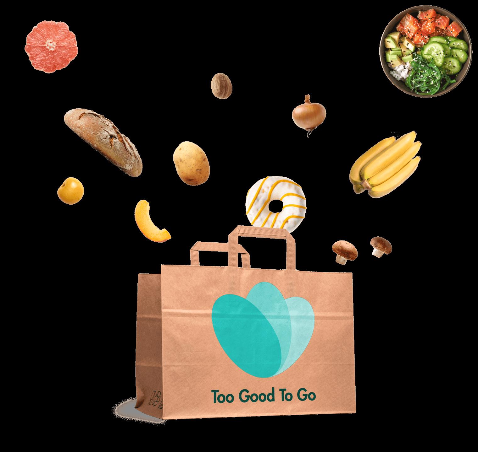 ridurre lo spreco di cibo con too good to go
