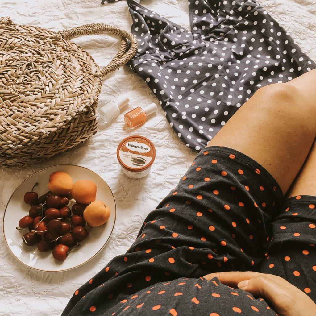 valigia parto vestiti premaman envie de fraise