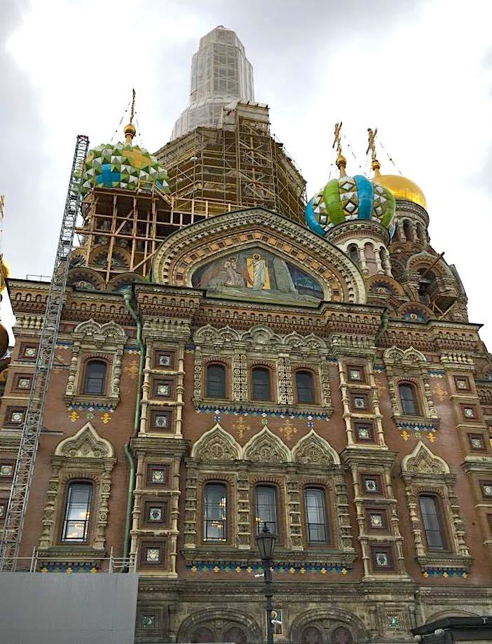 visitare le città del Baltico con bambini San Pietroburgo