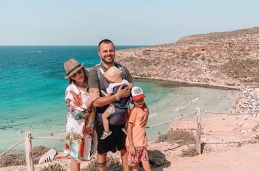Lampedusa con i bambini, come organizzarsi al meglio