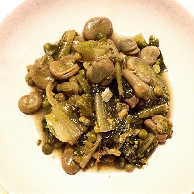 zuppa di legumi primaverili